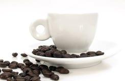 Café express cup2 Foto de archivo libre de regalías