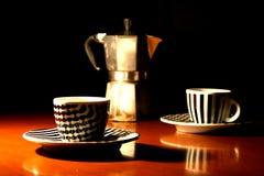 Café express de café de Moka Photo stock