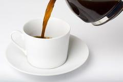 café express de cuvette de coffe Photos stock