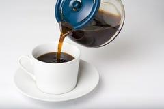 café express de cuvette de coffe Photographie stock