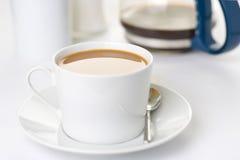 café express de cuvette de coffe Images stock