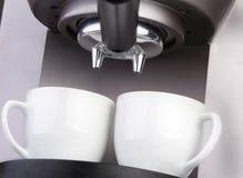 Café express de la máquina del café Imagen de archivo