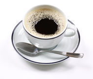 Café express de la taza de café Fotografía de archivo libre de regalías