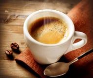 Café express del café Imágenes de archivo libres de regalías