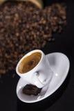 Café express fuerte Imagen de archivo libre de regalías