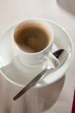 Café express fuerte y rico Fotografía de archivo