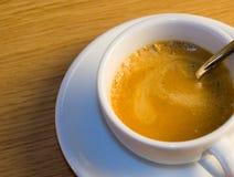 Café express italiano Fotos de archivo libres de regalías