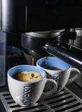 Café express italiano Foto de archivo libre de regalías