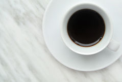 Café express italien Image libre de droits