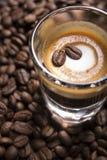 Café express Macchiato Imagen de archivo