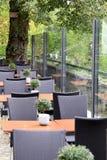 Café extérieur Photographie stock libre de droits