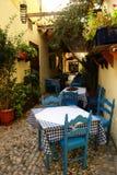 Café extérieur Images libres de droits