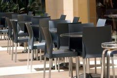 Café extérieur Images stock
