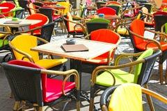 Café extérieur Image libre de droits