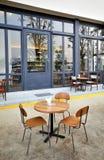 Café extérieur de café de rue Photographie stock libre de droits