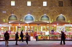 Café extérieur italien Photo stock