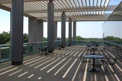Café extérieur moderne Photo stock