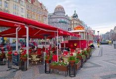 Café für Weihnachtstage Stockfoto