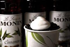 Café & feijões Foto de Stock