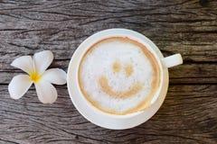 Café feliz fotografia de stock