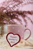 Café feliz del día de madre Fotos de archivo