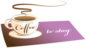 Café a ficar Imagens de Stock