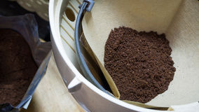 Café finement moulu Photos libres de droits