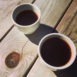 Café fora Foto de Stock