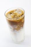 Café frío con leche Fotografía de archivo libre de regalías