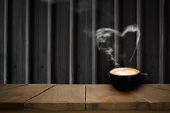 Café fragante del capuchino Fotografía de archivo libre de regalías
