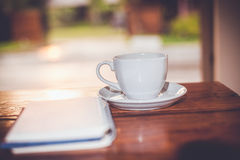 Café frais chaud Photo libre de droits
