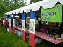 Café francés Fotografía de archivo