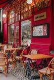 Café francés del estilo imagen de archivo libre de regalías