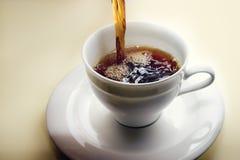 Café fresco imagenes de archivo