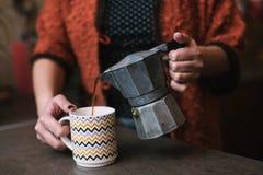 Café fresco Fotos de archivo
