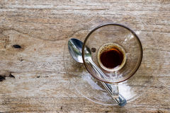 Café fresco Imagen de archivo