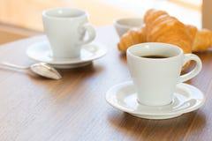 Café fresco de la mañana Foto de archivo