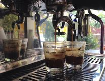 café fresco para fresco su nuevo día Imagen de archivo
