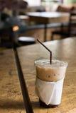 Café, froid Image stock