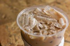 Café, froid Photographie stock libre de droits