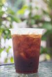 Café froid nitro de scintillement de brew Photographie stock