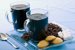 Café fuerte Imagen de archivo libre de regalías