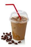 Café glacé image libre de droits