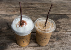 Café glacé Photographie stock