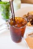 Café glacé d'americano Images libres de droits