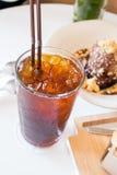 Café glacé d'americano Image libre de droits
