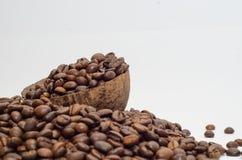 Café, granos de café Imagen de archivo libre de regalías