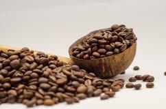 Café, granos de café Fotos de archivo libres de regalías
