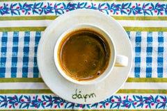 Café grec 2 Image libre de droits