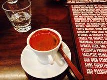 Café grec Photographie stock